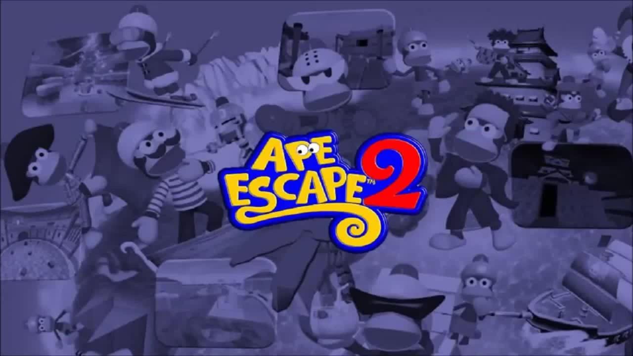 Ape Escape 2 Logo