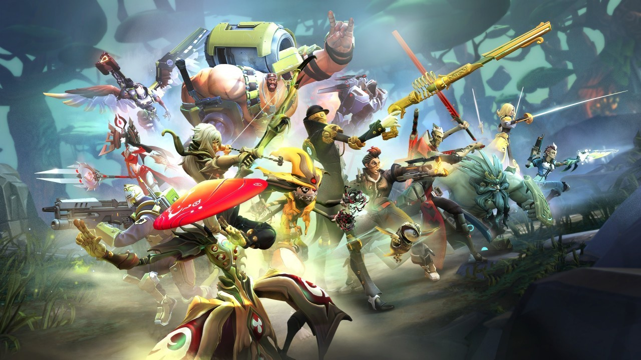 Battleborn Roster Artwork