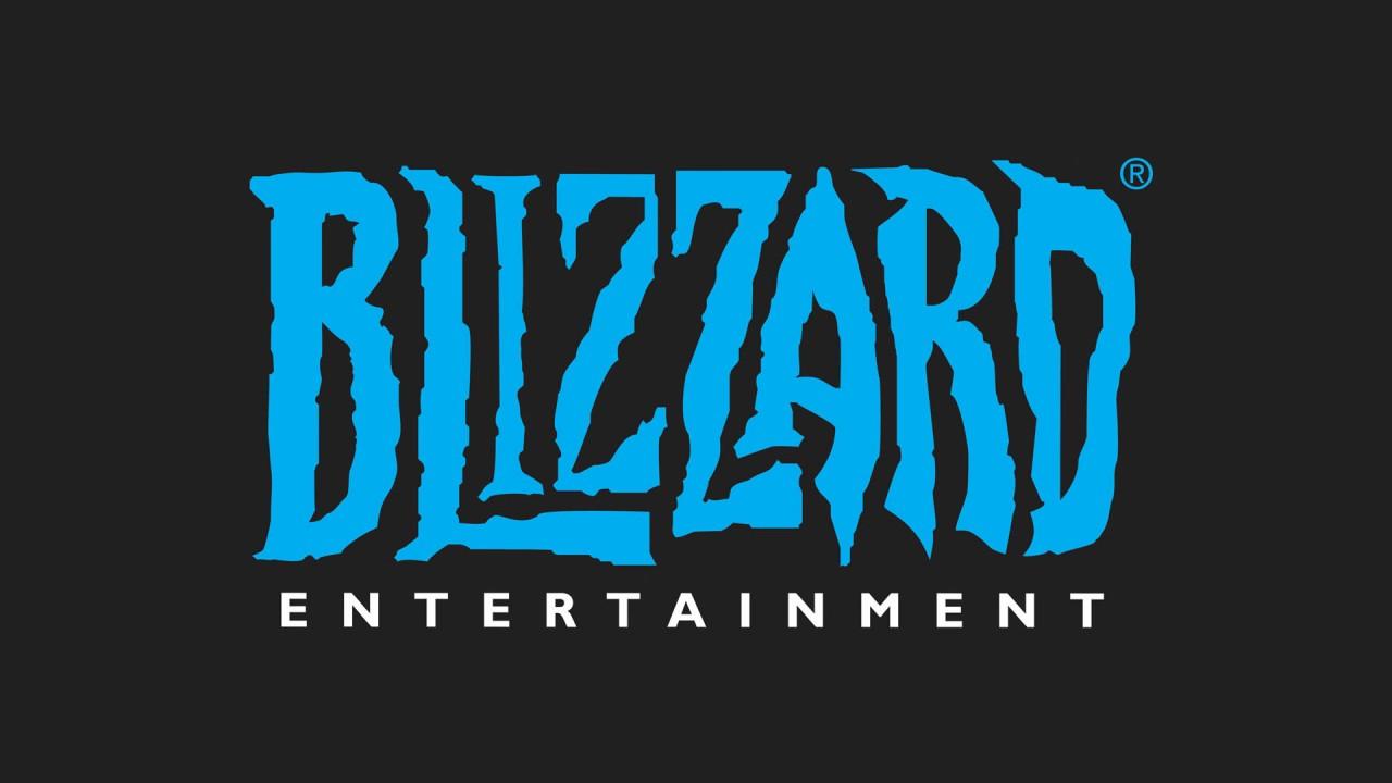 Blizzard logo blu