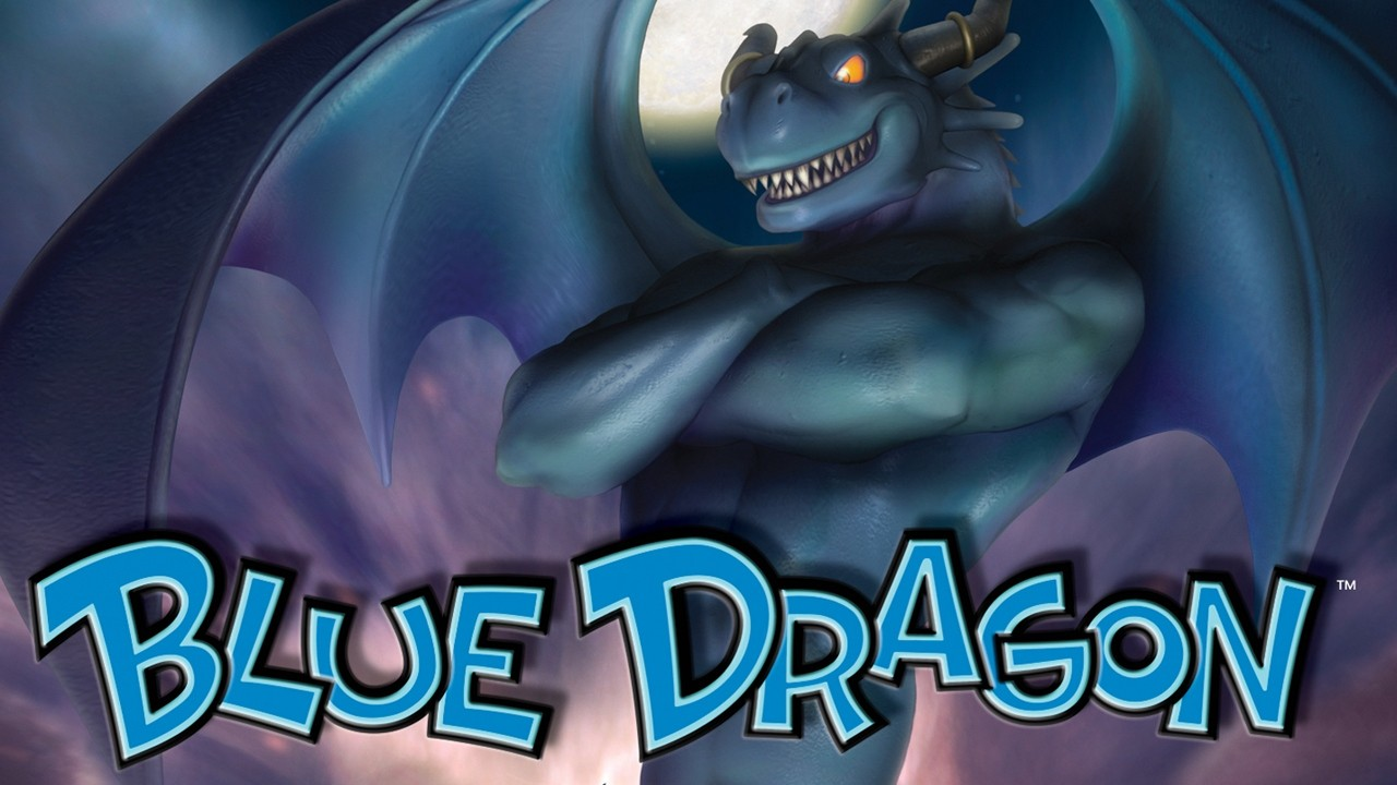 Blue Dragon Artwork