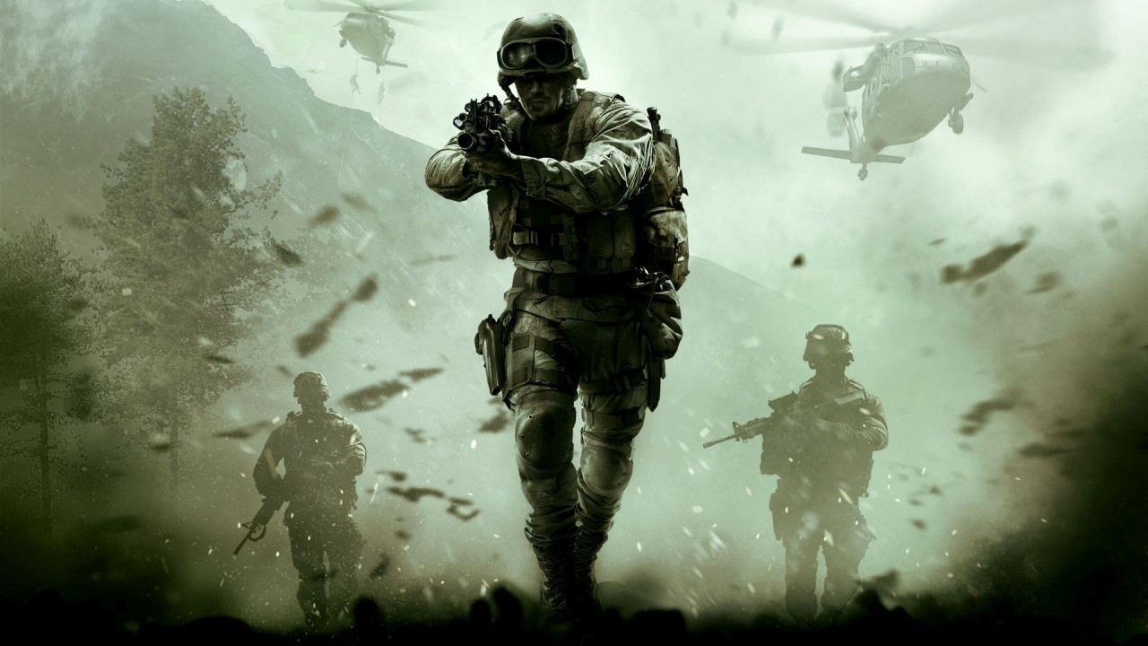 Call of Duty: Modern Warfare Remastered Main Art