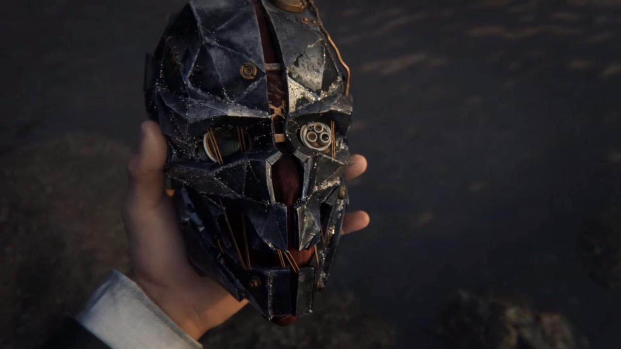 Corvo Attano maschera