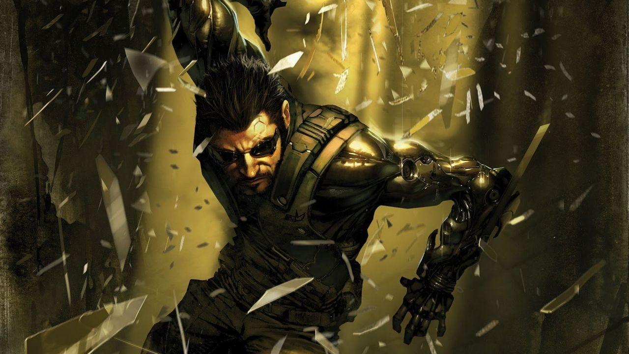 Deus Ex: Mankind Divided Adam Jensen Artwork