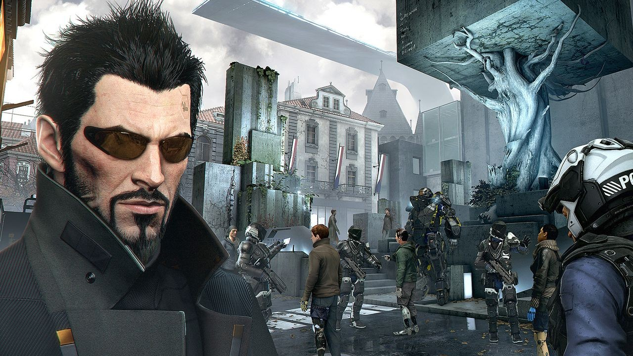 Deus Ex: Mankind Divided Alternative Cover