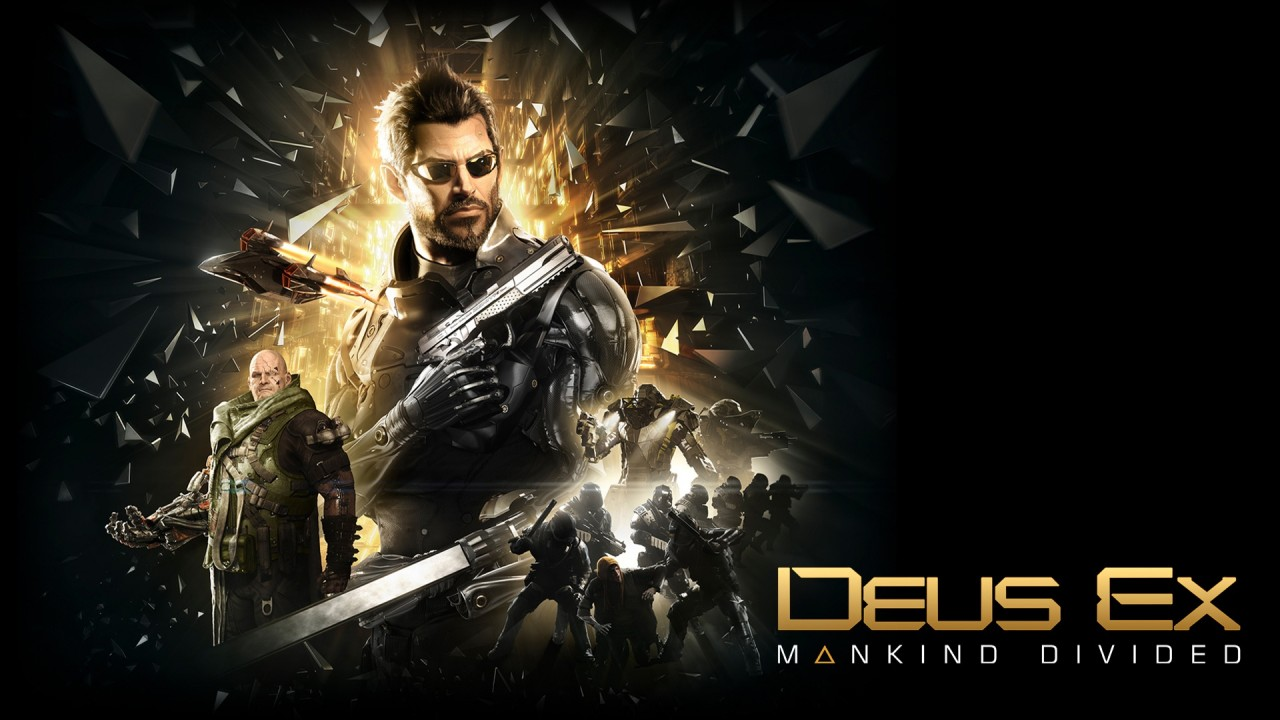 Deus Ex: Mankind Divided Main Art Logo