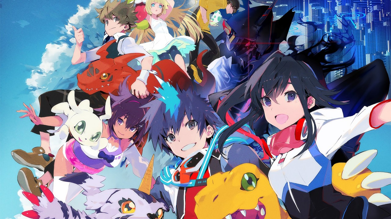 Digimon World Next Order artwork