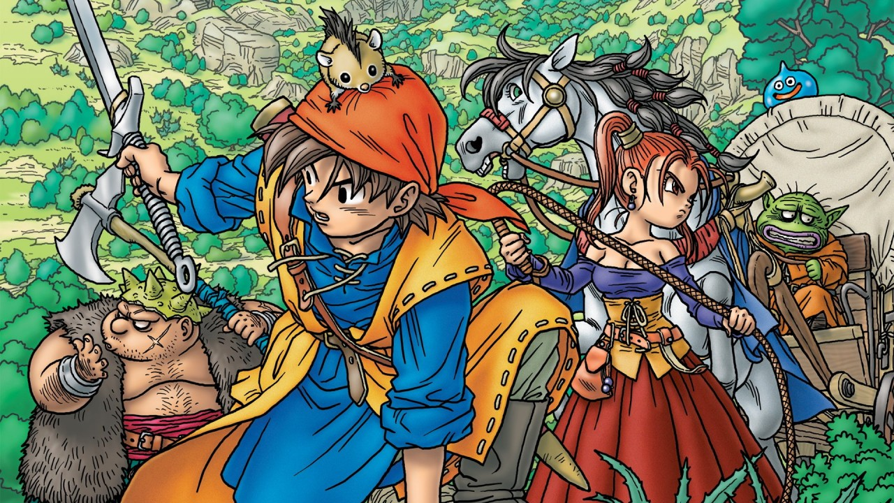 Dragon Quest VIII artwork