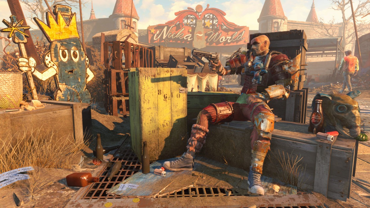 Fallout 4 Nuka World Screenshot