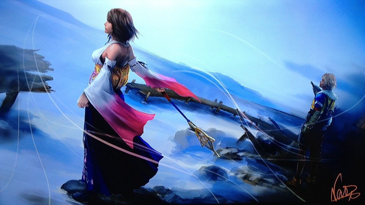 Final Fantasy X: artwork Yusuke Naora