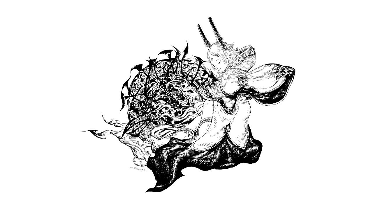 Final Fantasy Yoshitaka Amano Art