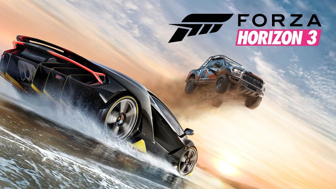 Forza Horizon 3 Main Art