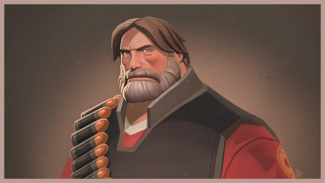 Gabe Newell Team Fortress