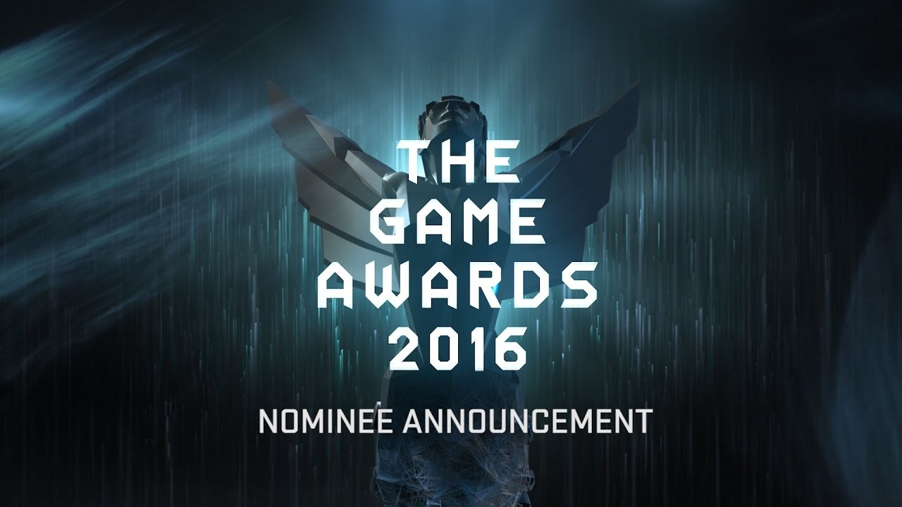 Game Awards 2016 nomination