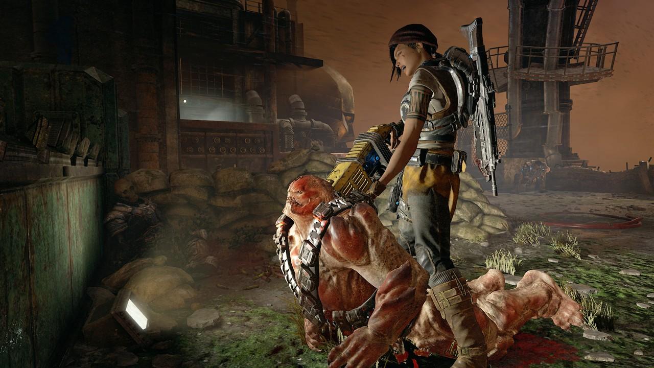 Gears of War 4 Screenshot Kill