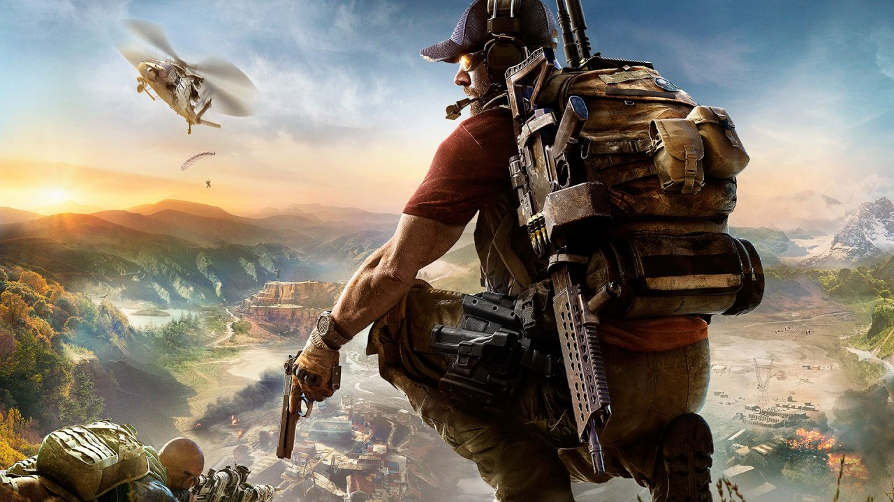 Ghost Recon Wildlands Main Art