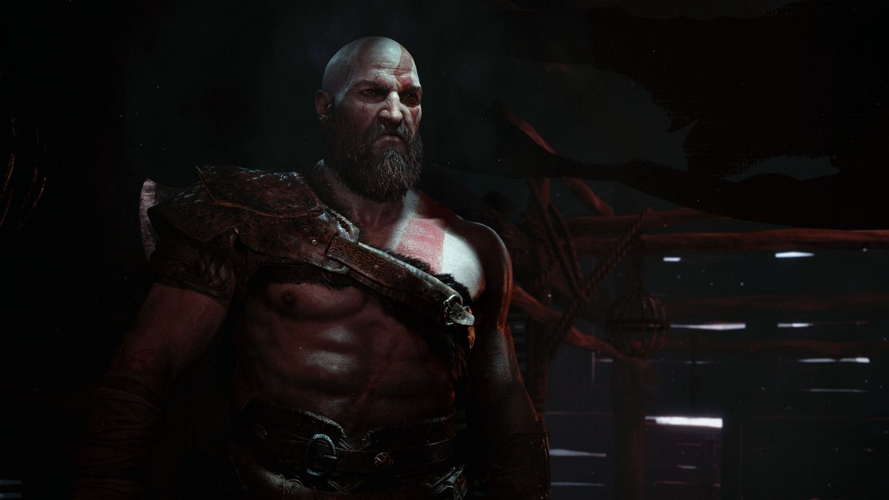 God of War PS4 Kratos Screenshot