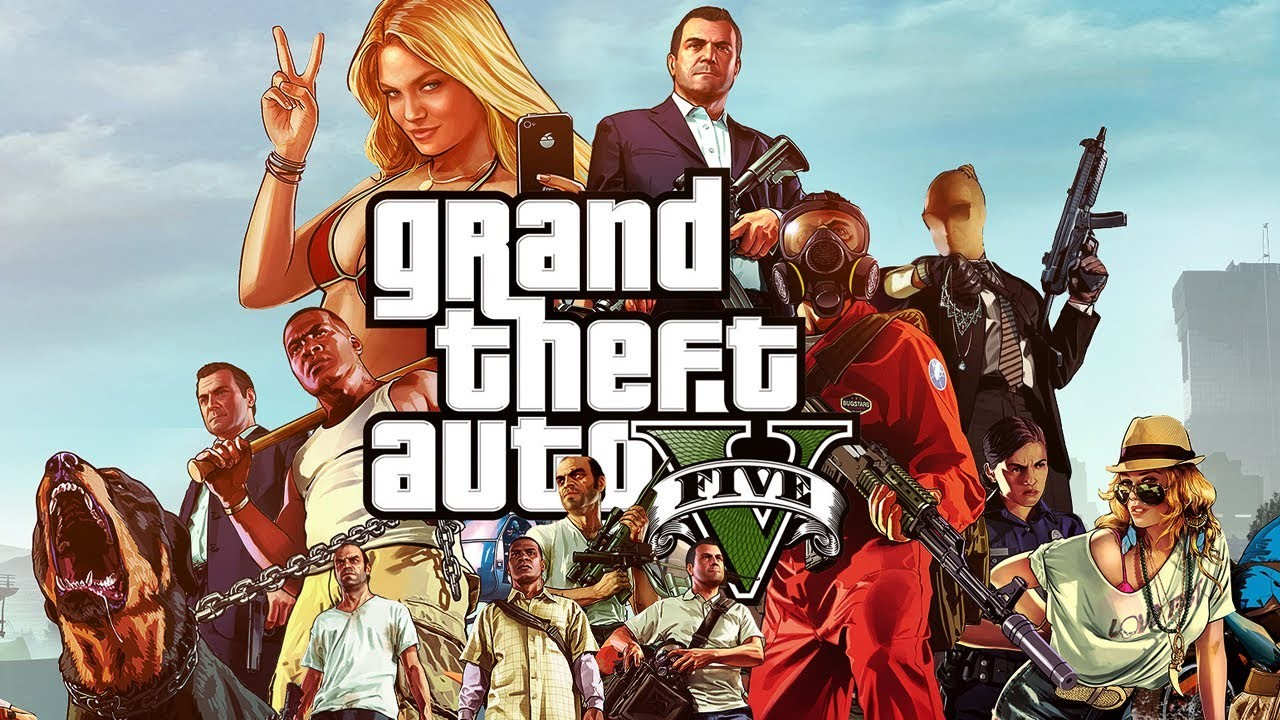 Grand Theft Auto V Artwork 2