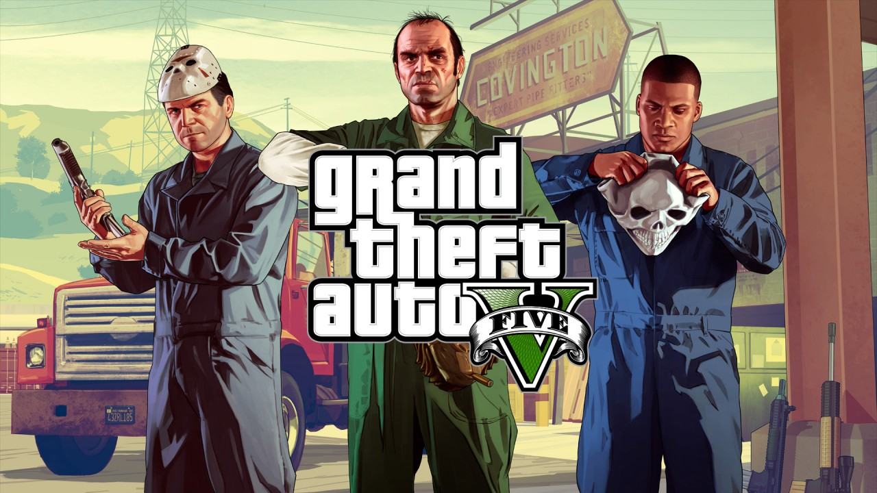 GTA V Grand Theft Auto V Artwork