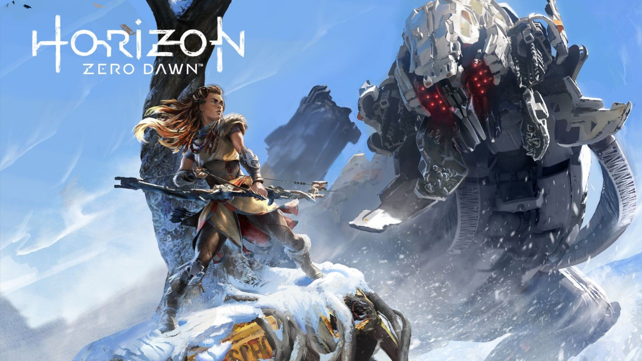 Horizon Zero Dawn Main Art
