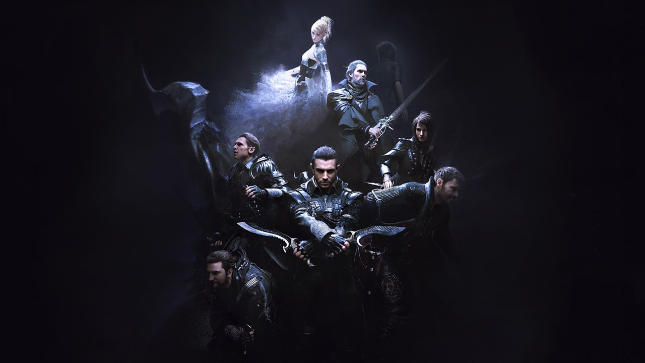 Kingsglaive Final Fantasy XV Key Art