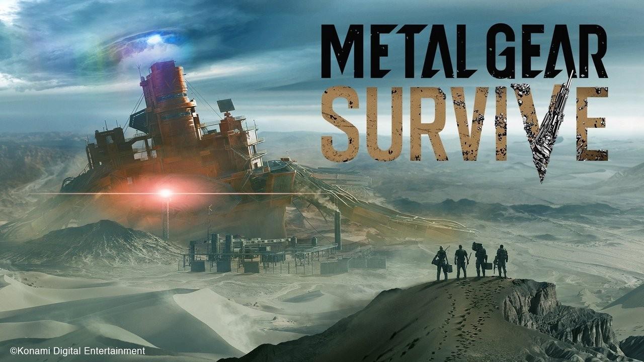 Metal Gear Survive Artwork con logo