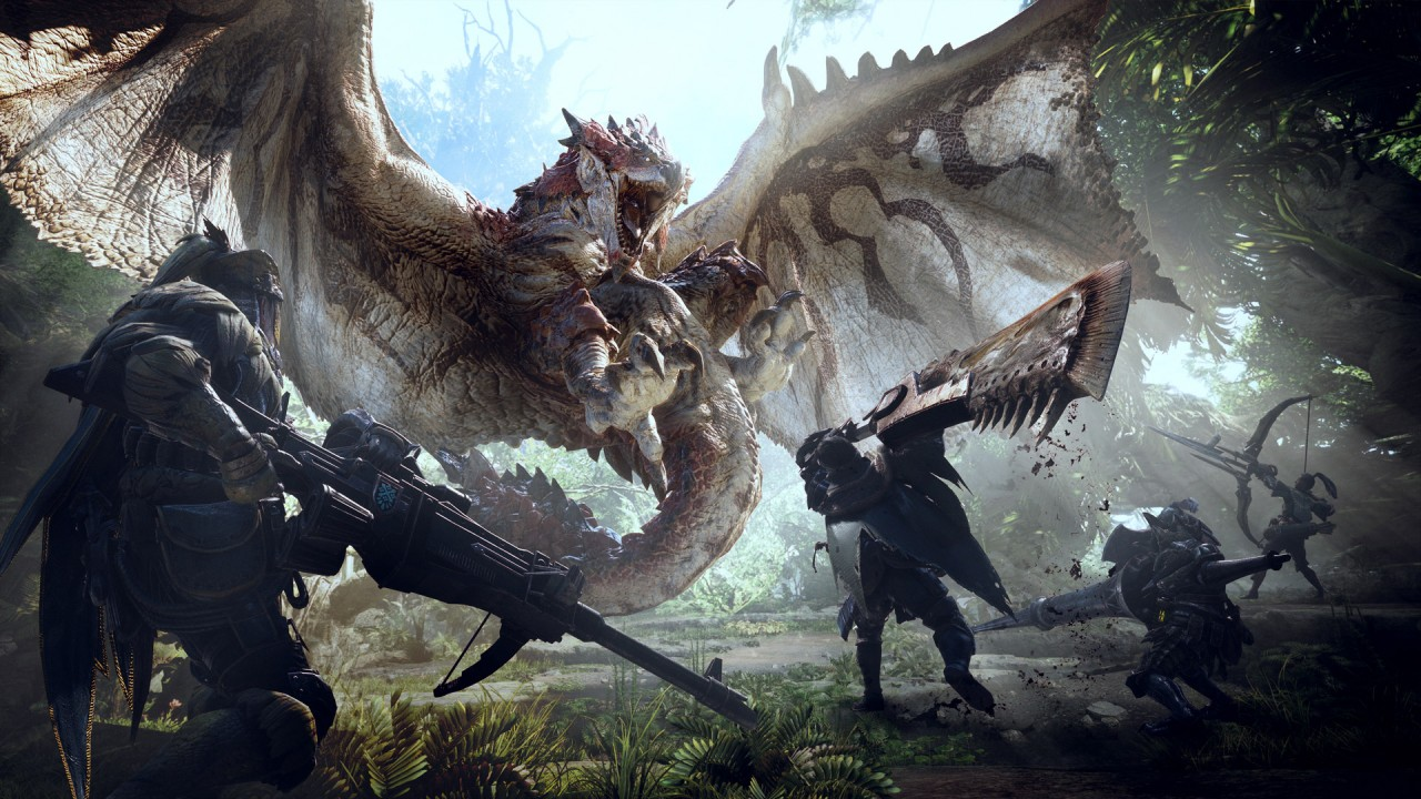 25 minuti di gameplay di Monster Hunter World
