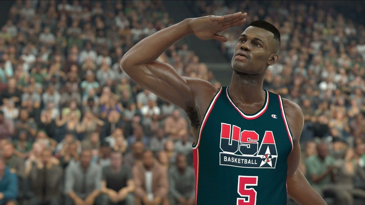 NBA 2K17 Dream Team USA