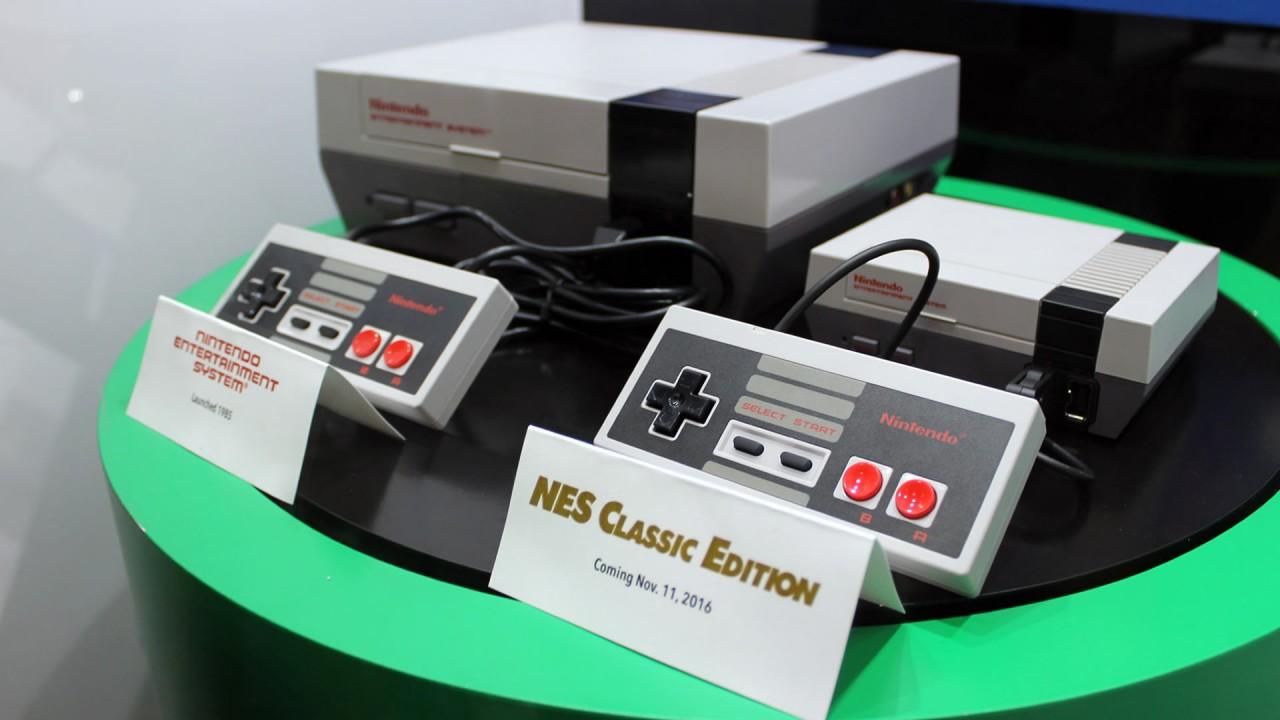 Nintendo Classic Mini vs NES