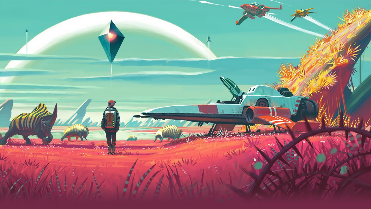 No Man's Sky Main Art