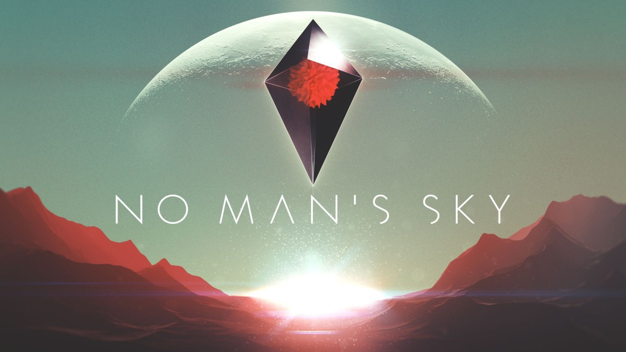No Man's Sky Main Art Logo