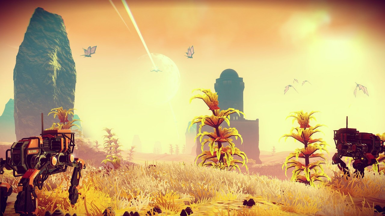 No Man's Sky Sunset Bots
