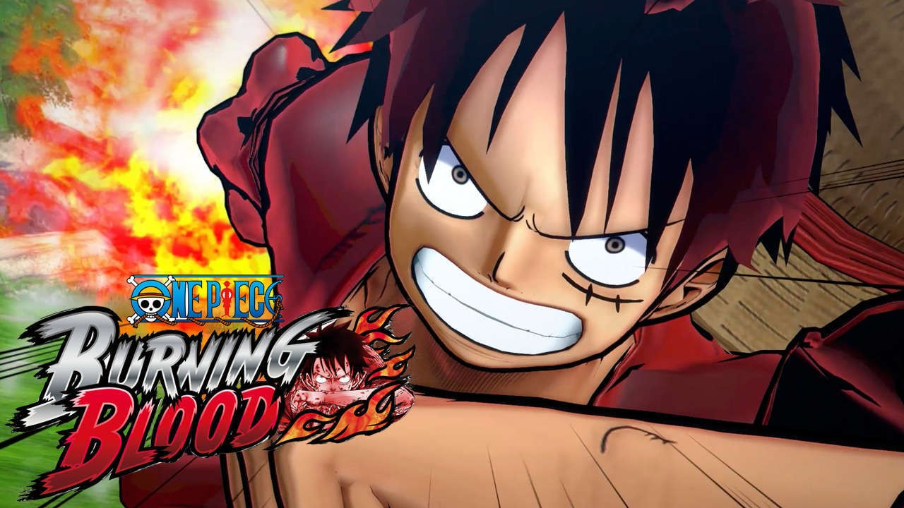 One Piece: Burning Blood News Cover