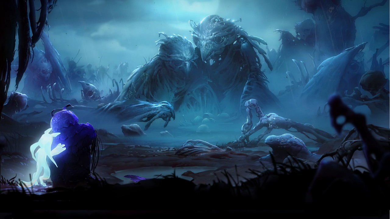 Ori and the Will of the Wisps artwork
