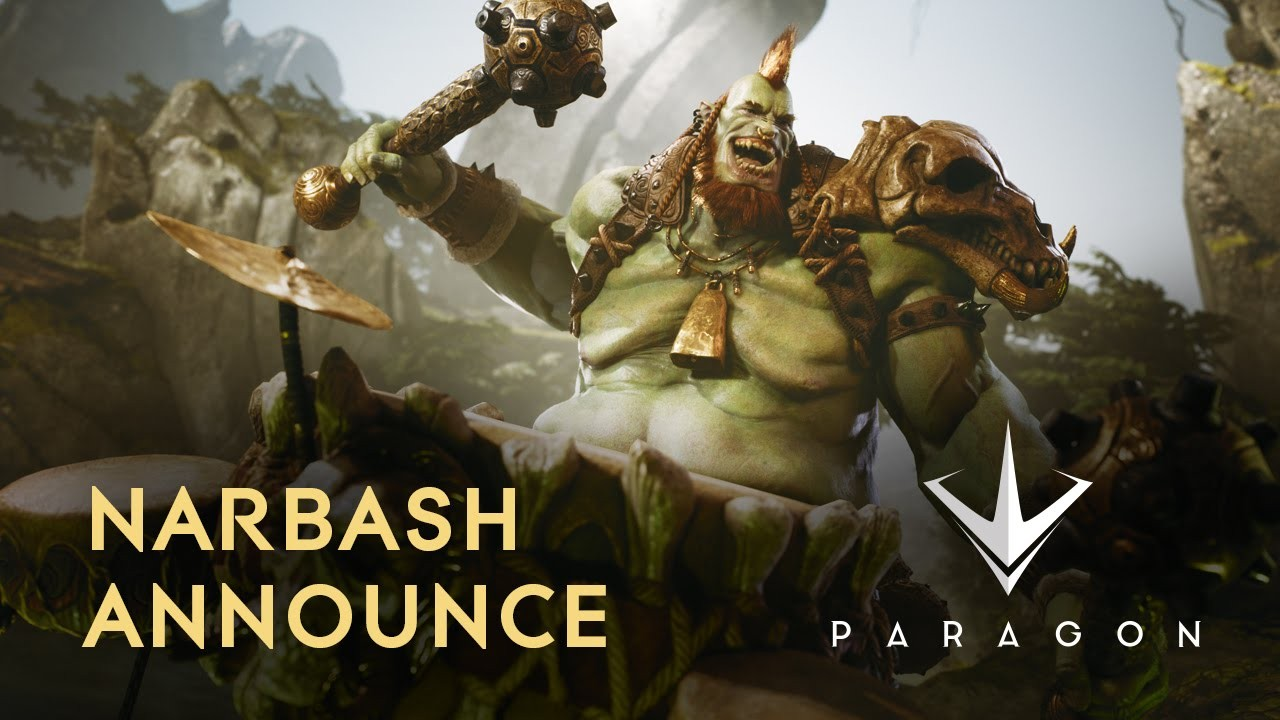 Paragon Narbash Announce