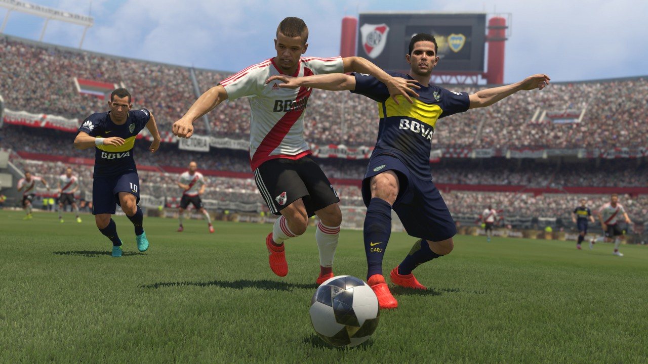 PES 2017 River Plate Boca Juniors