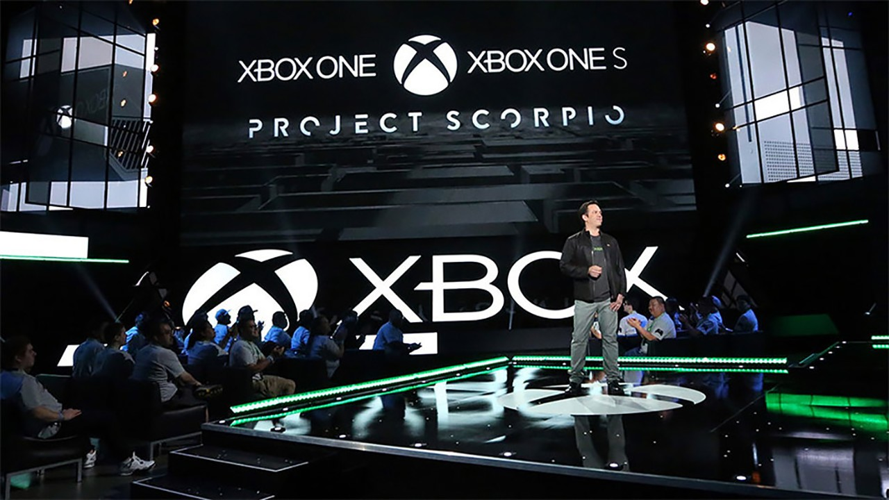 Phil Spencer Xbox One S Project Scorpio