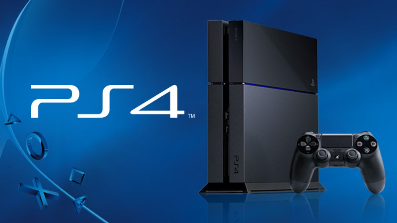PlayStation 4 Console e Logo