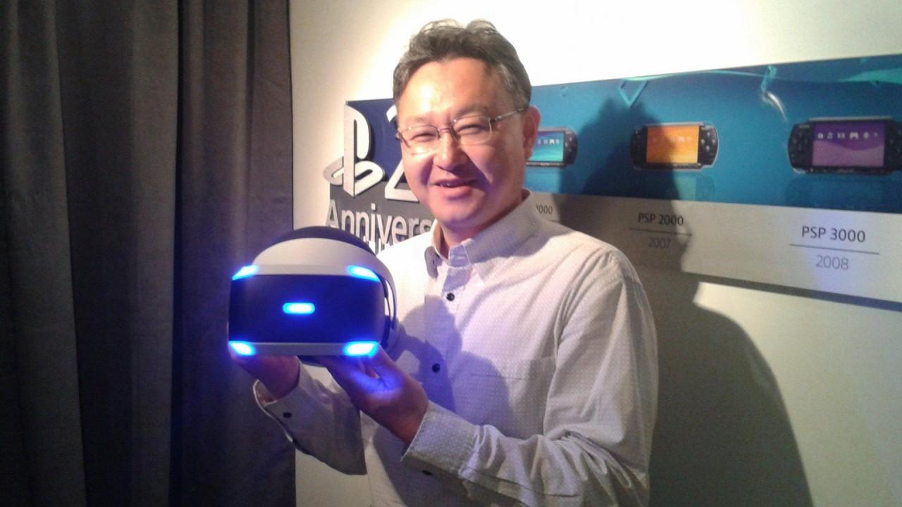 PlayStation VR: Shuhei Yoshida