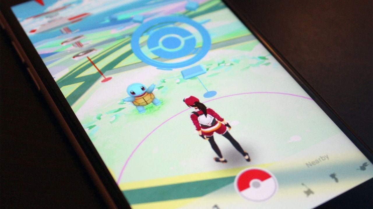 Pokémon Go sul cellulare