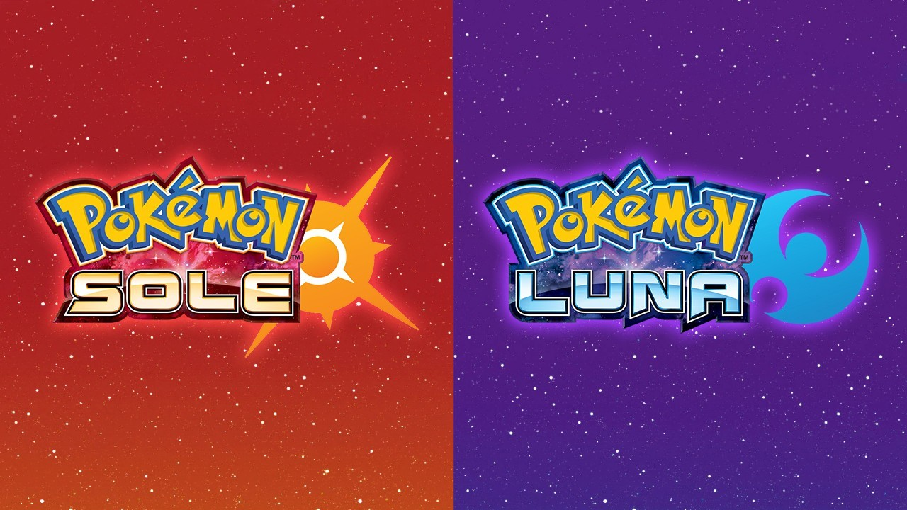 Pokémon Sole e Luna Artwork