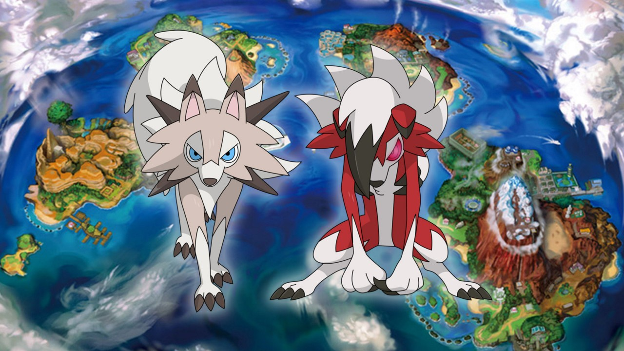Pokemon Sole Luna Lycanroc