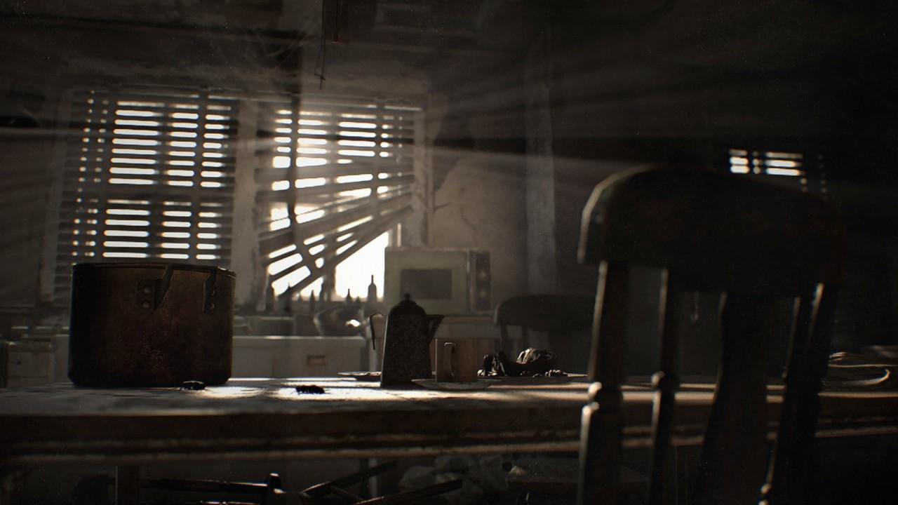 Resident Evil 7 screenshot cucina