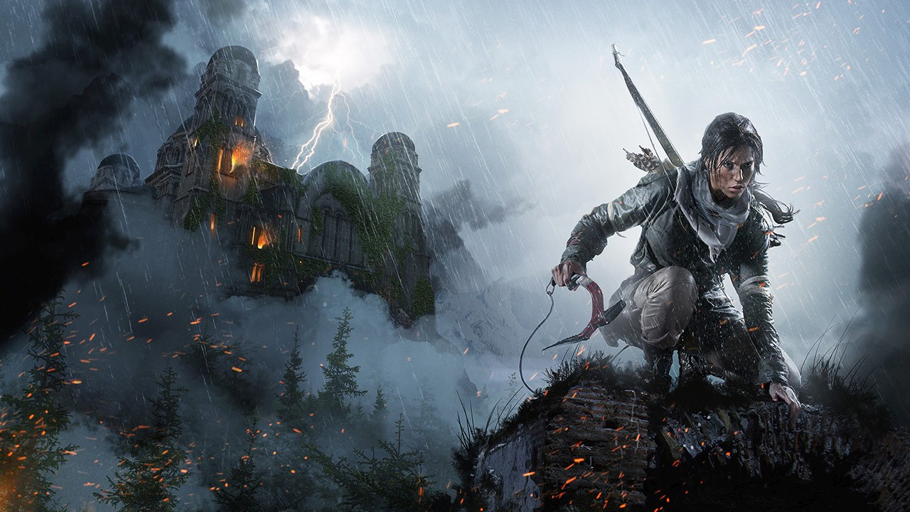 Rise of the Tomb Raider Artwork Mountain