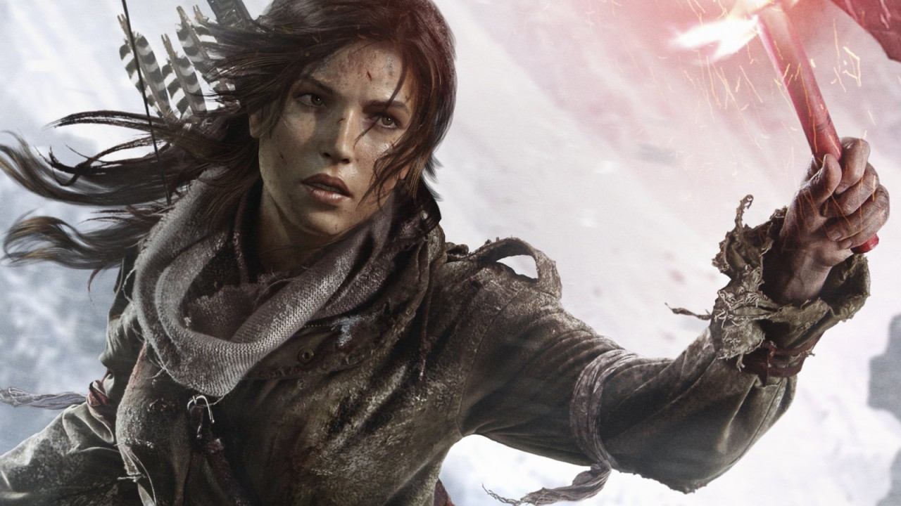 Rise of the Tomb Raider Lara Artwork