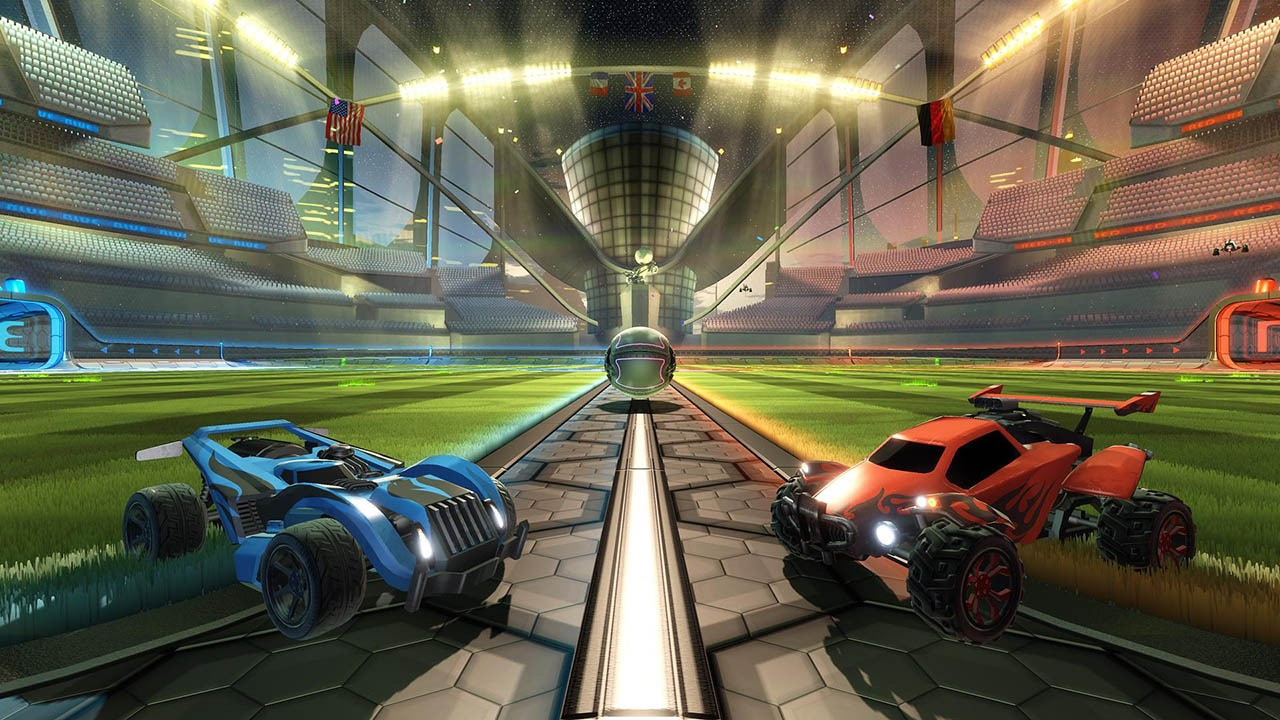 Rocket League Main Screen