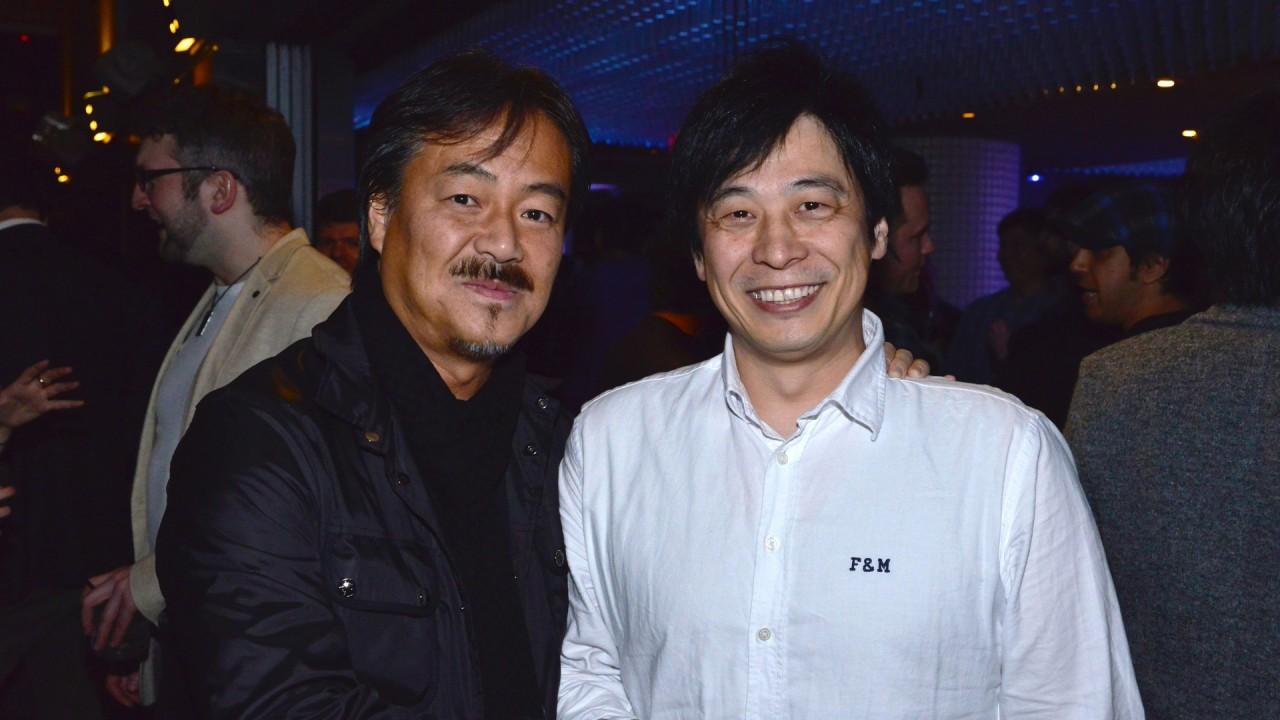 Hironobu Sakaguchi e Hajime Tabata