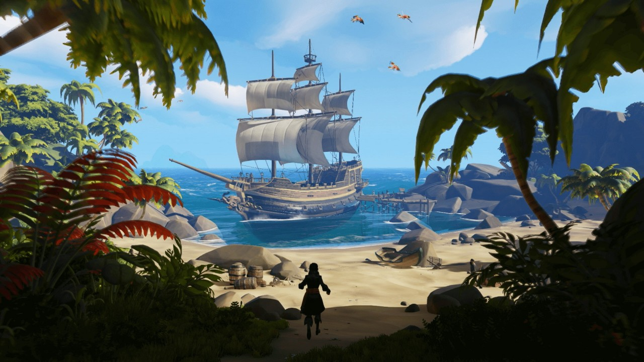Sea of Thieves Ship