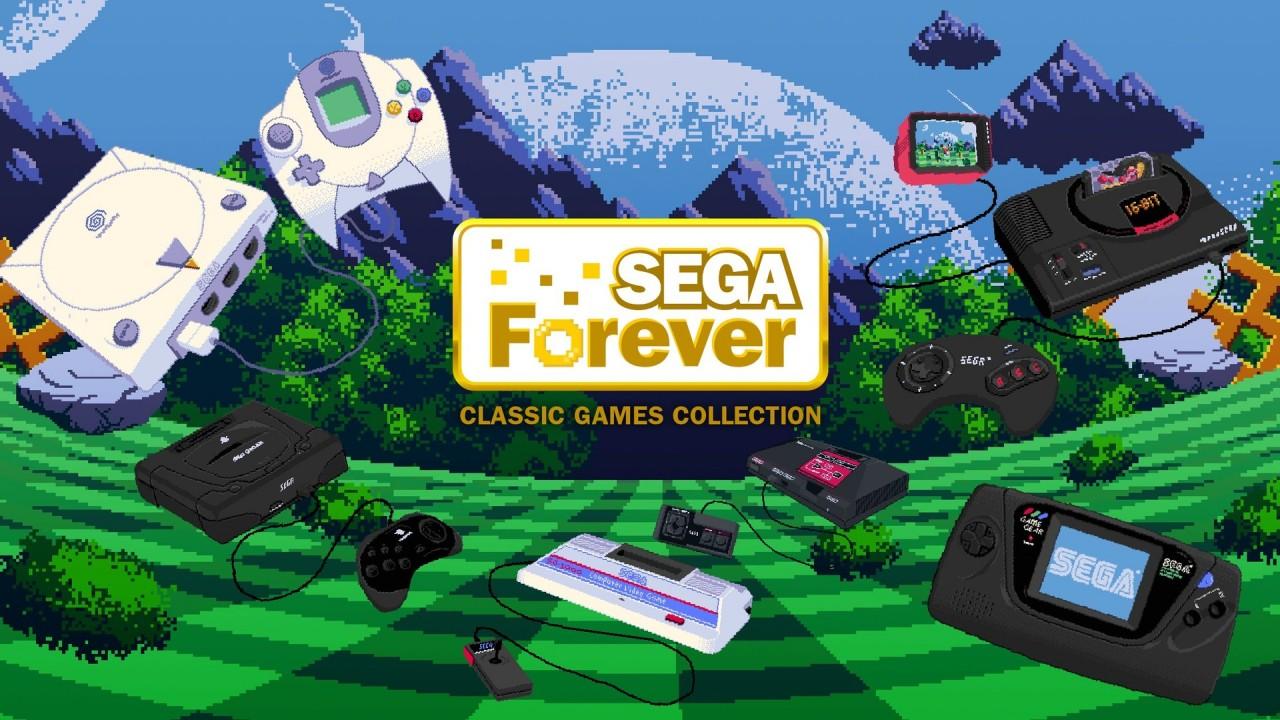 SEGA Forever key art