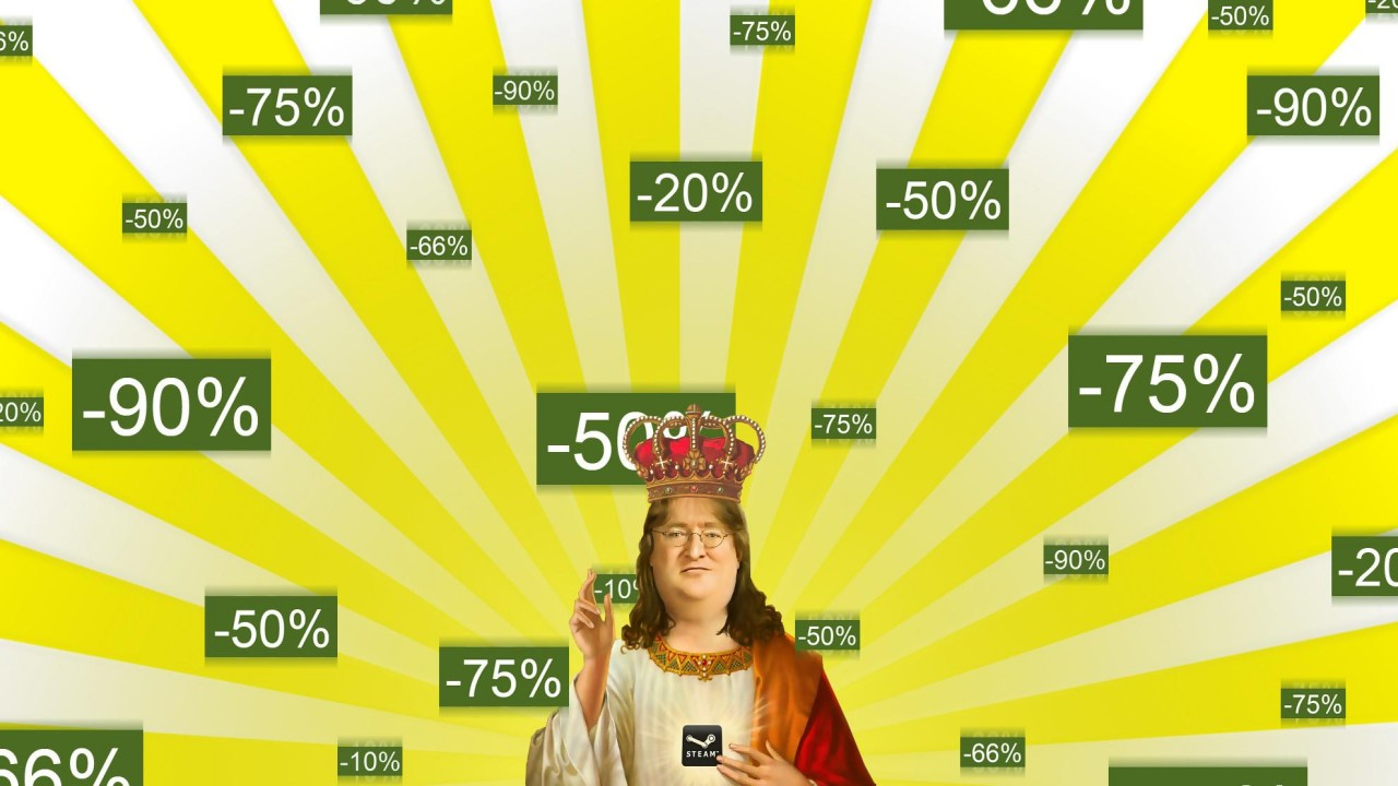 Steam Sale: Gaben Miracle