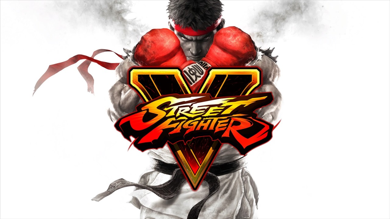 Street Fighter V Main art logo